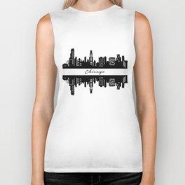 Chicago Skyline Biker Tank