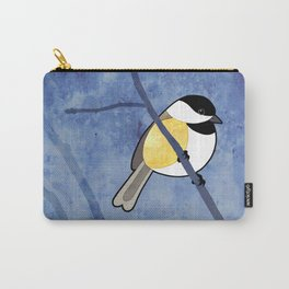 Black-capped Chickadee (Poecile atricapillus) Carry-All Pouch