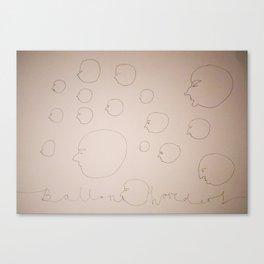 More ballon heads Canvas Print