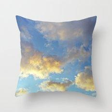Heavenly skies Throw Pillow