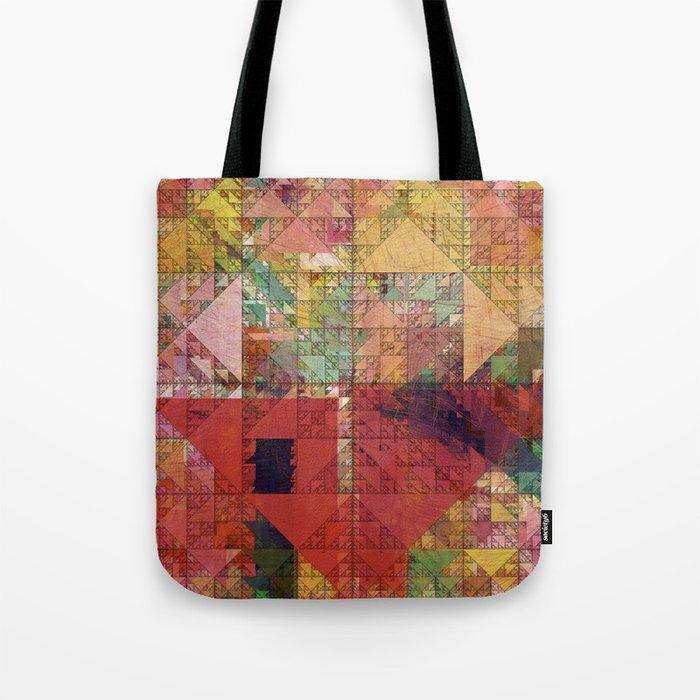 Aztec Vintage Pattern 09 Tote Bag