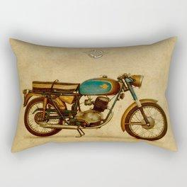 Ducati 125 Aurea 1958 Rectangular Pillow