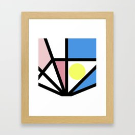 Around Every Color Framed Art Print