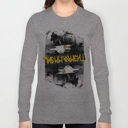 Unemployment - Dead Friends (Record Release Design#1) Long Sleeve T-shirt