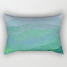 Blue Ridge Spring Rectangular Pillow