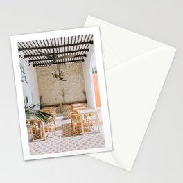 Wanderlust Interiors with Pink Tiles Stationery Cards