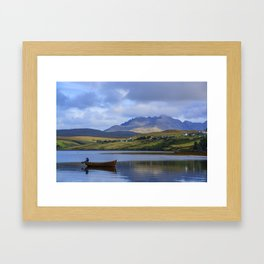 Loch Harport and the Cuillins 2 Framed Art Print