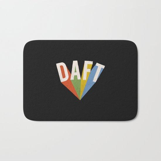 Letters : Daft II Bath Mat