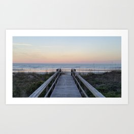 Take Me to the Beach Art Print