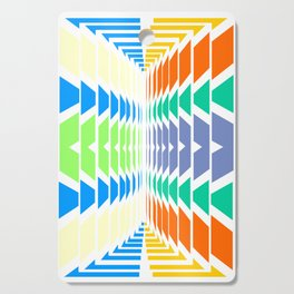 INDIAN ABSTRACT Cutting Board