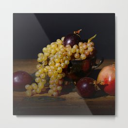 Fruit Bowl Arrangement Metal Print