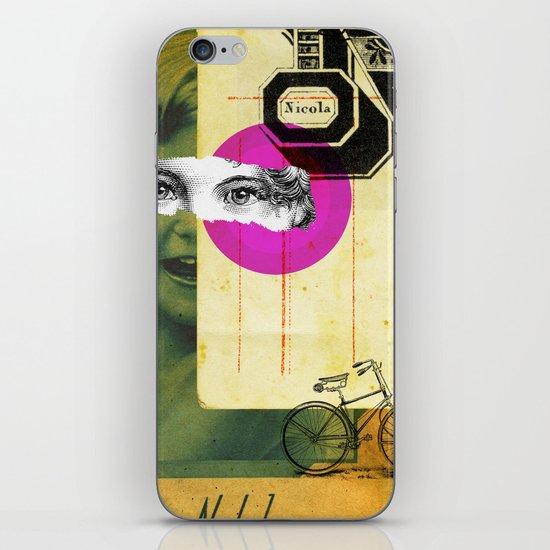Play hide and seek with petit Nicola iPhone & iPod Skin