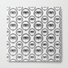 AV9a Alchemy Crying Eye Metal Print
