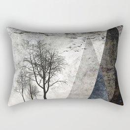 TREES besides MAGIC MOUNTAINS I Rectangular Pillow