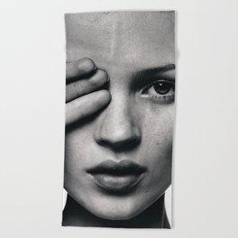 Kate Moss fashion Beach Towel