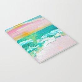 Pink Sand Sunset Notebook