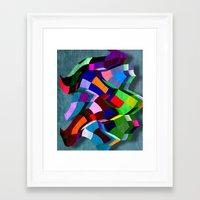sandman Framed Art Prints featuring Sandman by Kay Weber