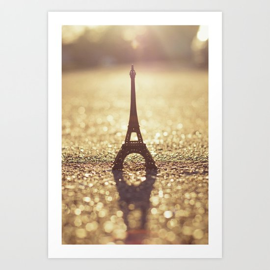 Paris, City of Light Art Print