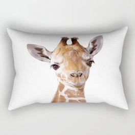 Baby Giraffe, Baby Animal Art Prints By Synplus Rectangular Pillow