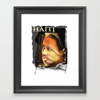 Haiti Portraits / 06 / Series / 4 Framed Art Print