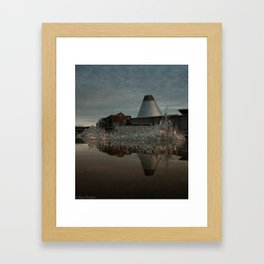 Reflections in MOG 2 Framed Art Print