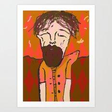 iron and wine  Art Print
