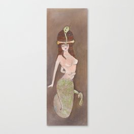 Manasa, The Serpent Queen Canvas Print