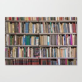 Library books Canvas Print