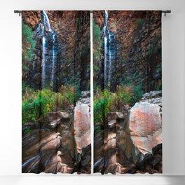 Morialta waterfall Blackout Curtain
