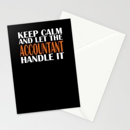 Keep Calm Account Stationery Cards