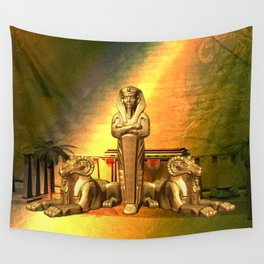 Anubis, the egyptian god Wall Tapestry