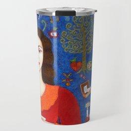 """Violeta Parra - """"Thanks to Life """" Travel Mug"""