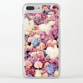 FLORAL ARRANGEMENT III Clear iPhone Case