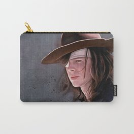 Carl Grimes Before The Fall - The Walking Dead Carry-All Pouch