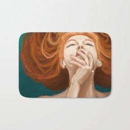 Red Head Bath Mat