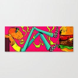 BURG Canvas Print