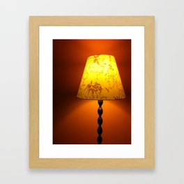 Orange Burst Framed Art Print