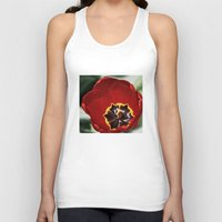 tulip Tank Tops featuring Tulip by Charlene McCoy