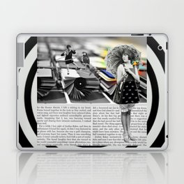 The Parasol Girl and The Parrot Laptop & iPad Skin