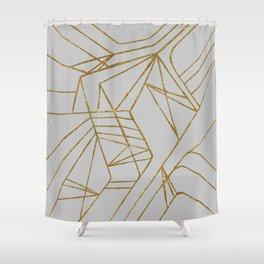 Maze GLD Shower Curtain