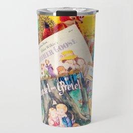 Little Vintage Library Travel Mug