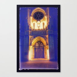 San Fernando Blue T Canvas Print
