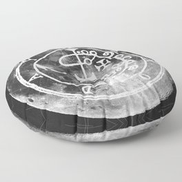 The Witches Moon Floor Pillow