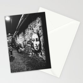 Seattle, Post Alley murals Stationery Cards