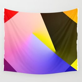 Expressionist Cubes II  Wall Tapestry