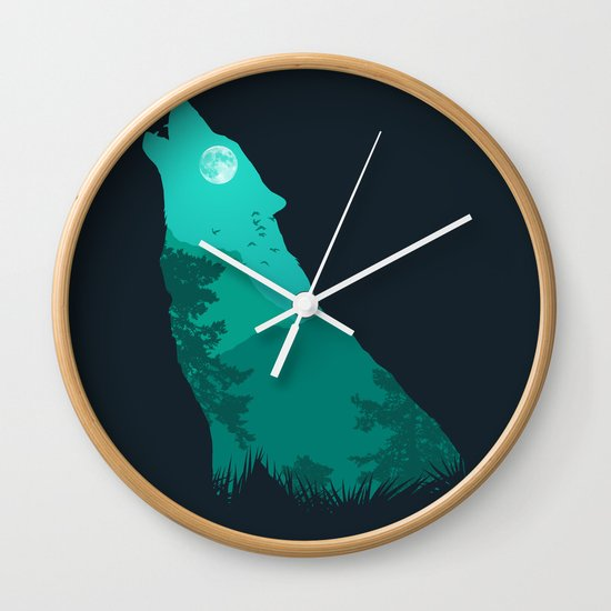 The Sound Of Nature Wall Clock