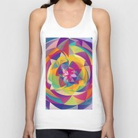 acid Tank Tops featuring Acid Blossom by Eleaxart