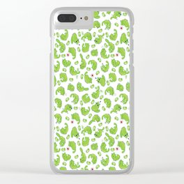 Cat Bean's Emotions Clear iPhone Case