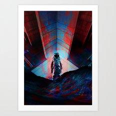 See you soon Space Cowboy Art Print