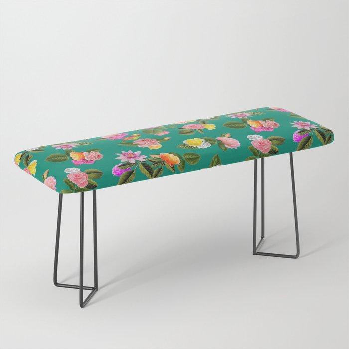 Frida Floral Bench
